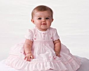 Baby's christening dress.