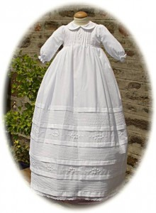 Cotton Christening Gown from Pretty Originals