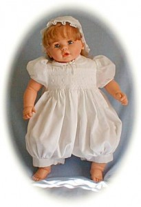 baby girls christening outfit