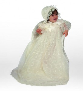 Little Darlings Gabriella christening gown G2091