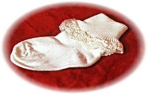 Frilly Cotton Socks