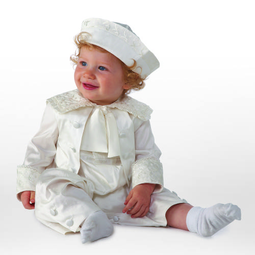 Little Darlings Montgomery christening suit