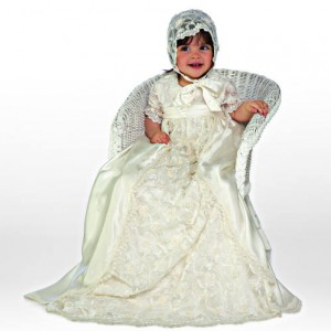 Little Darlings Olivia christening gown