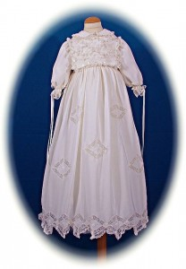 Italian Silk Christening Gown