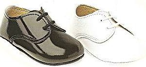 Baby's leather shoes.