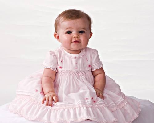 Baby's christening dress