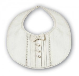 Boy's silk bib.