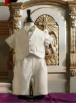 A4239 Cream Christening Suit