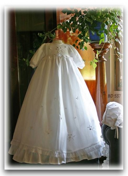 White christening gown Pretty Originals
