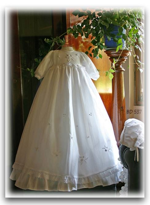 White christening gown Pretty Originals