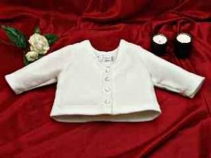 Baby's fleece cardigan
