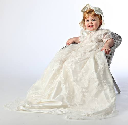 Little Darlings Claudia christening gown G9013