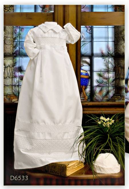 7557470e8fe3 Boys  christening gowns and romper · Silk Christening Gown Romper. ""