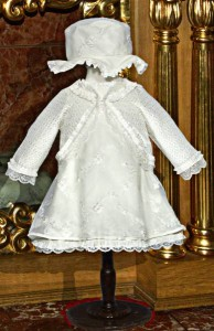 Little Darlings christening dress D8122