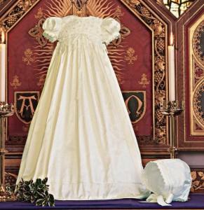 Silk Christening Gown
