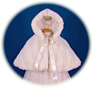 Fur Christening Cape