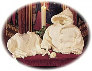 Christening cardigans