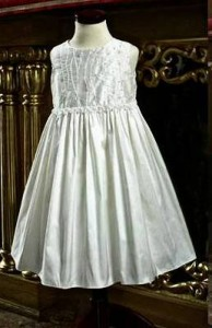 Silk Christening Dress