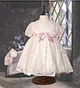 Little Darlings christening dress D9007