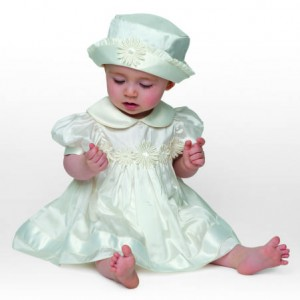 Little Darlings Daisy christening dress BS4236