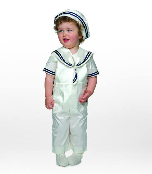 Duke christening suit by Little Darlings