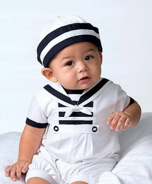 Sailor suit from Sarah Louise