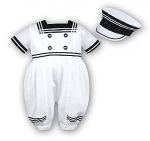 Sailor suit by Sarah Louise