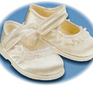 Baby's first walker christening shoes