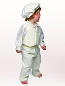 Little Darlings Harrison Christening suit