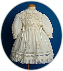 Italian Silk Christening Dress