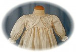 Silk Christening Gown Bodice