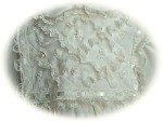 Italian Silk Christening Gown Bodice Detail