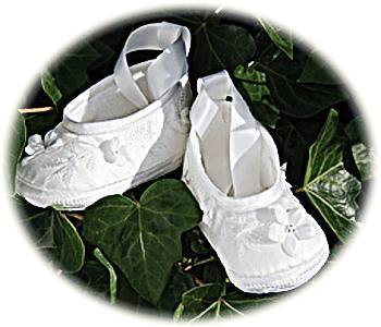 girls christening shoes
