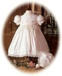 Silk Christening Dress