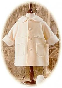 Baby's christening coat
