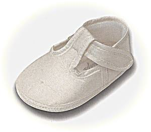 T bar christening shoes