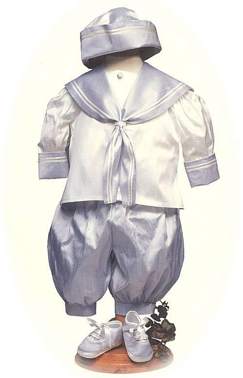 baby's silk sailor suit