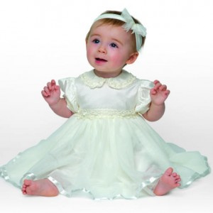 Little Darlings Tinkerbell christening dress