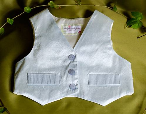 """Gabriel"" silk waistcoat"