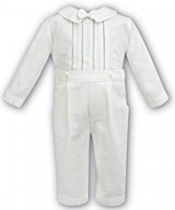 Baby's suit with long trousers